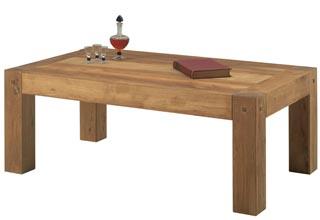 Журнальный столик из массива дерева маленького размера