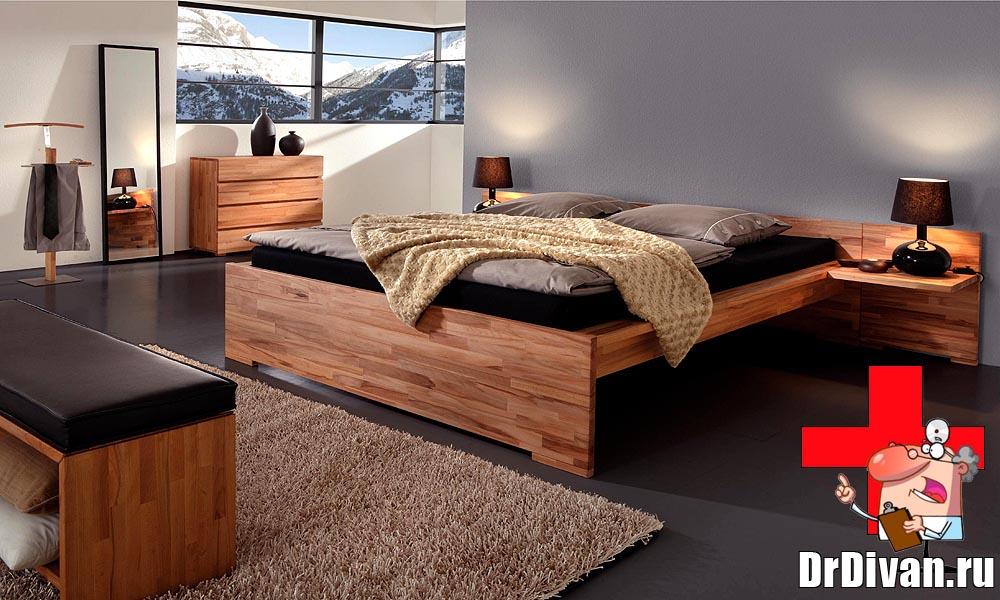 Дизайн кровати односпальной